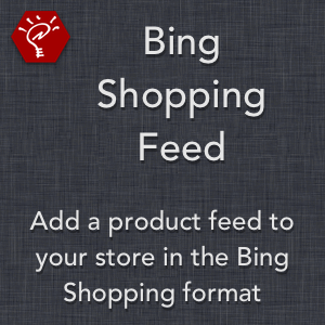 Bing Shopping Feed