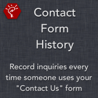 Contact Form History