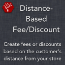 Distance-Based Fee/Discount