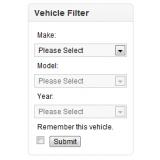 Vehicle YMM