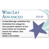 Wish List Advanced