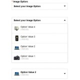 Product Image Option DropDown