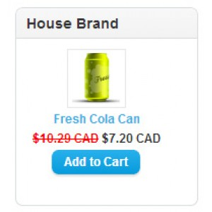 House Brand Module for OpenCart