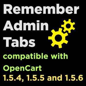 Remember Admin Tabs
