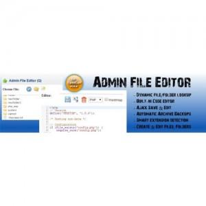 Admin File Editor