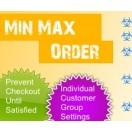 Min / Max Order Limits (1.5.x/2.x.x)