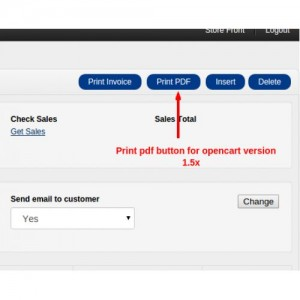 PDF Invoice For Orders : Multiple Features