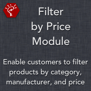 Filter by Price Module