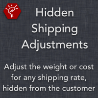 Hidden Shipping Adjustments