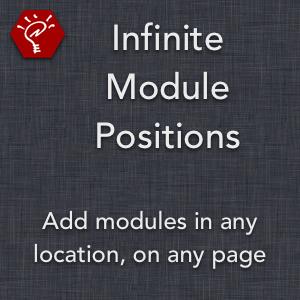 Infinite Module Positions