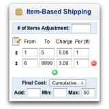 Item-Based Shipping