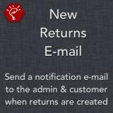 New Returns E-mail