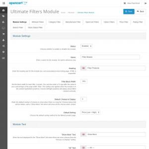 Ultimate Filters Module