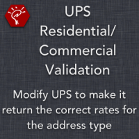 UPS Residential/Commercial Validation