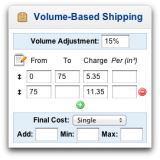 Volume-Based Shipping
