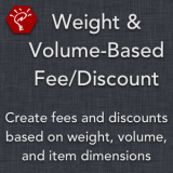 Weight & Volume-Based Fee/Discount