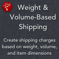 Weight & Volume-Based Shipping