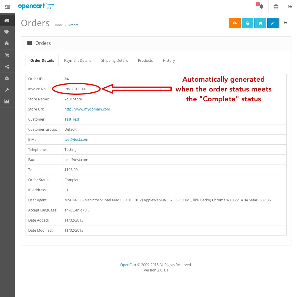 updated auto generate invoice numbers opencart community