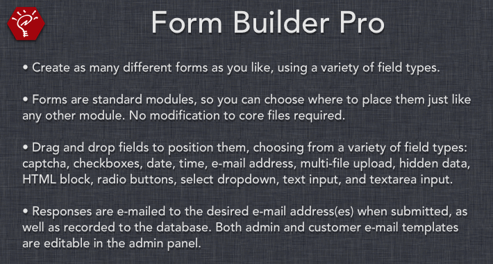 UPDATED] Form Builder Pro - OpenCart Community