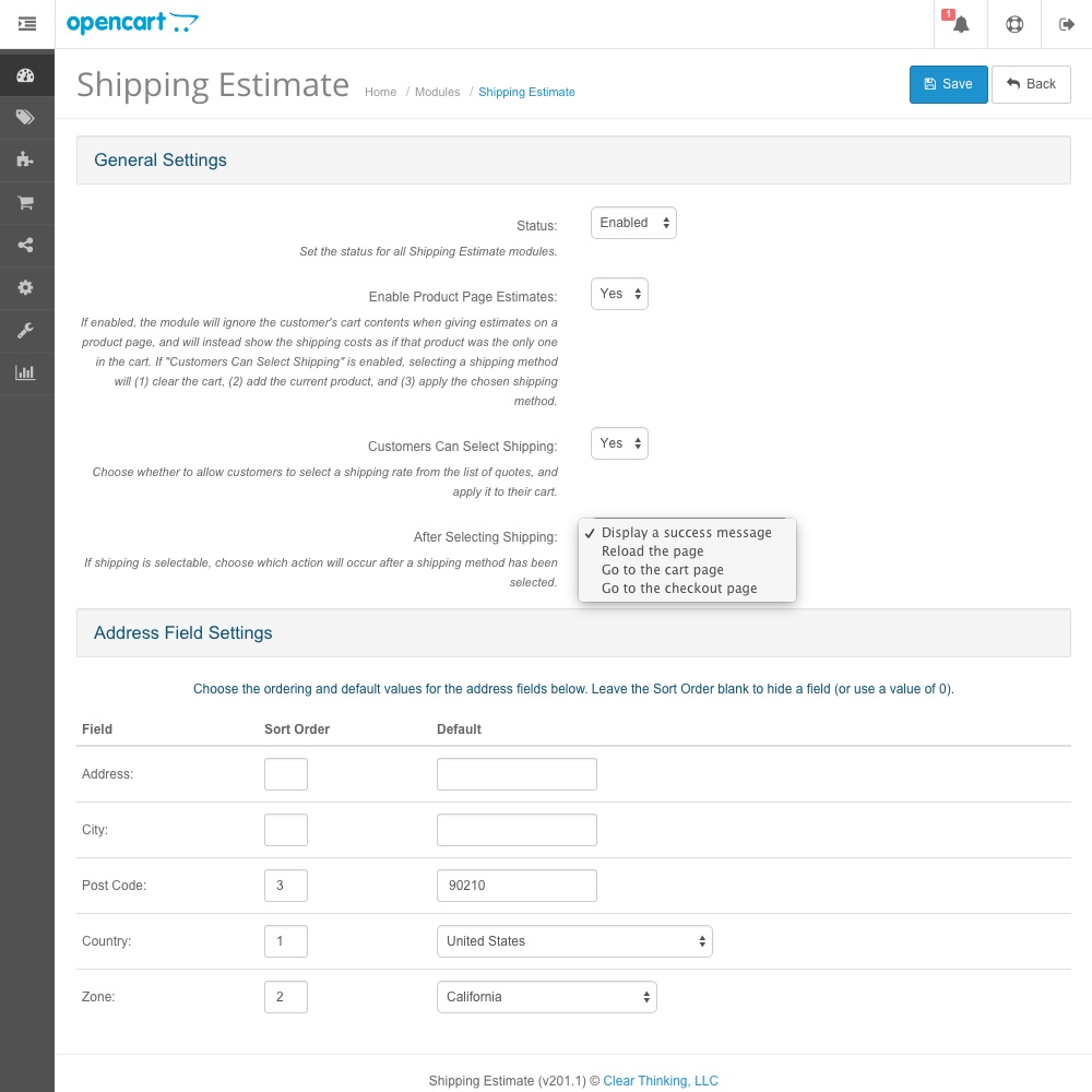 Shipping Quote Updated Shipping Estimate Module  Opencart Community